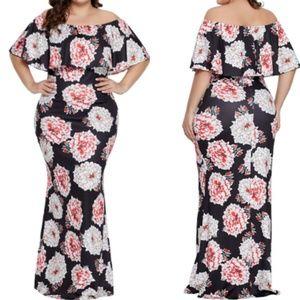 Bloom Plus Maxi Dress